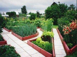 Садовая доска – красивое и прочное ограждение