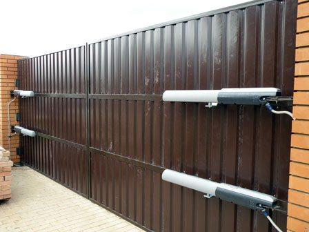 Спаренный вариант – лучшее решение для больших ворот