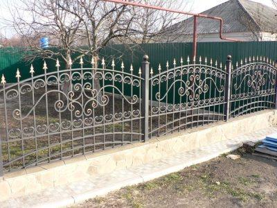 Сварная оградка