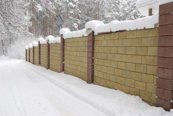 Устойчивость к морозу – немаловажный фактор для строительного материала