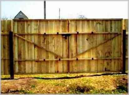 Ворота для временного забора