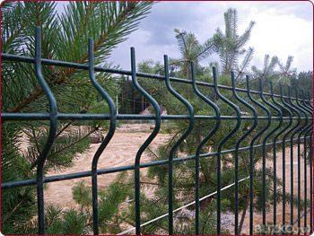 Забор 3д: фото