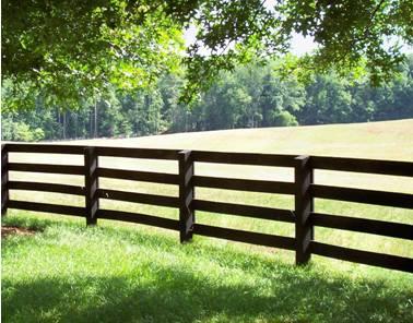 Заграждение в стиле ранчо